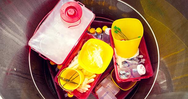 gaz à effet de serre santé déchets médicaux