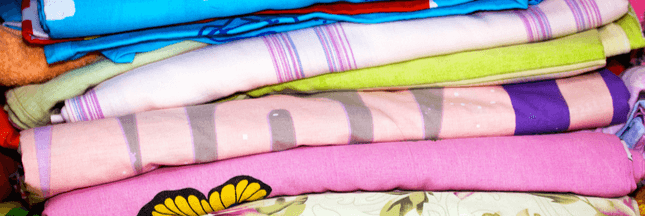 Que faire avec de vieux draps ? 8 astuces pour les réutiliser