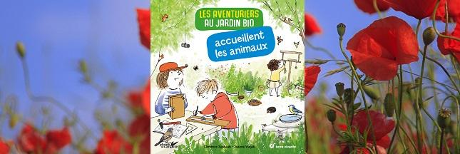 Sélection livre enfant : Les aventuriers au jardin bio