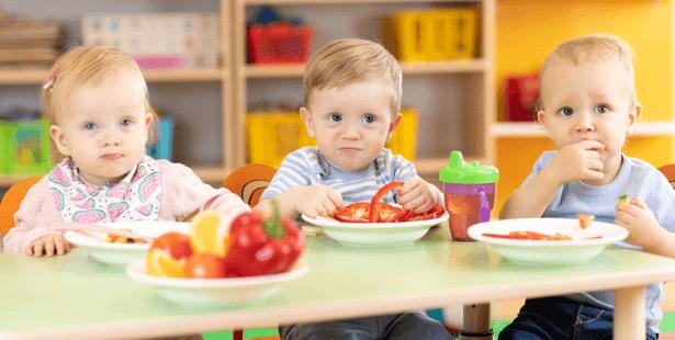 repas végétariens bébé