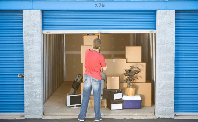 Déménagement - Louer un box de stockage