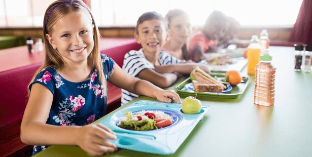 menus végétariens cantines scolaires
