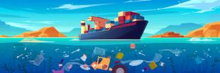 Déchets plastiques, rejets de soufre : les navires polluent les océans