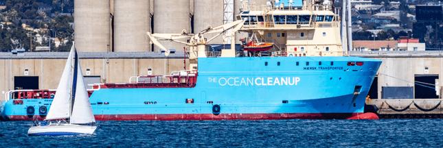 Ocean CleanUp - L'opération de nettoyage du Pacifique a commencé