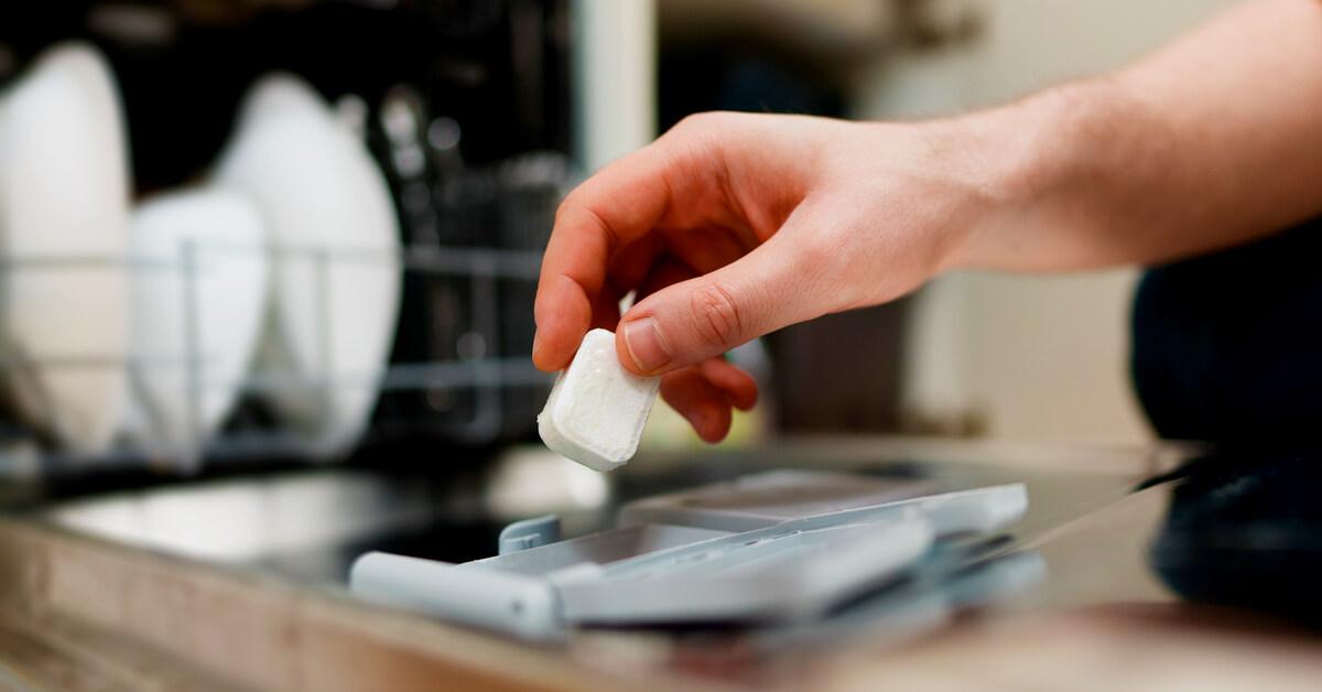 pastille lave-vaisselle maison
