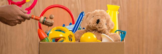 Comment et où donner les jouets que l'on n'utilise plus ?