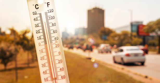 réchauffement climatique, record de chaleur