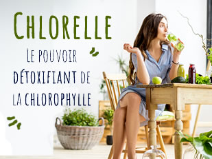 CHLORELLE PURE - LE POUVOIR DÉTOX DE LA CHLOROPHYLLE