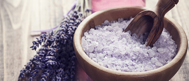 sel de bain maison recette