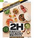 cuisiner en 2h pour la semaine livre