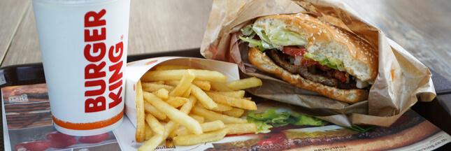 Le vrai/faux burger vegan de Burger King
