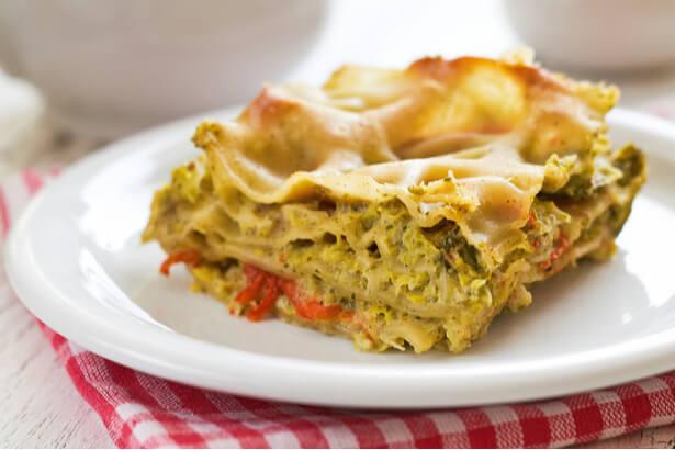 batch cooking recette lasagnes vegan