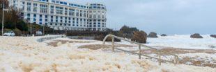 La mousse sur la plage de Biarritz enfin identifiée