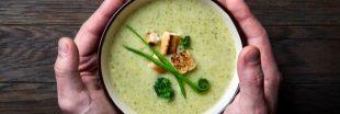 Simple mais divine : la soupe aux pois cassés