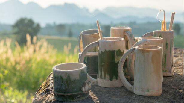 mug en bambou