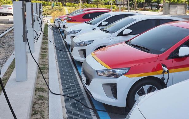 voiture electrique charge