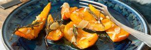Courge rôtie : trois variantes de recettes au miel, au thym, aux épices