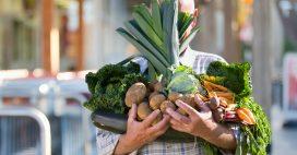 Légumes de saison: le panier AMAP du mois de mars
