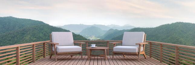 Comment entretenir son mobilier de jardin en bois ? Notre recette naturelle