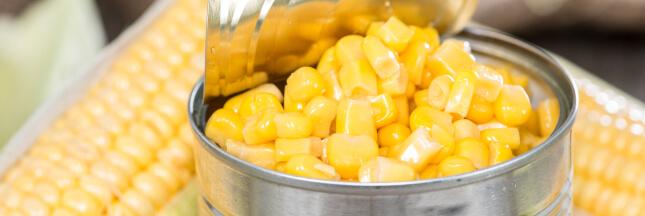 Recettes originales : que faire avec une boîte de maïs ?