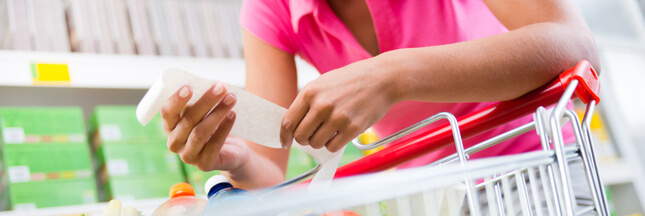Arnaque sur l'étiquette : les formats familiaux pas forcément moins chers