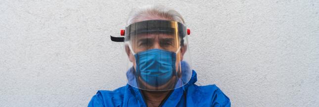 Coronavirus : les visières de protection efficaces ?