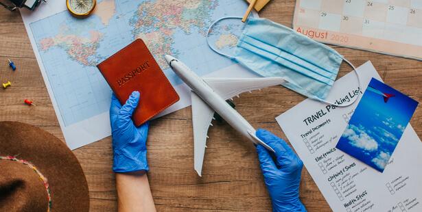covid-19 voyage en avion