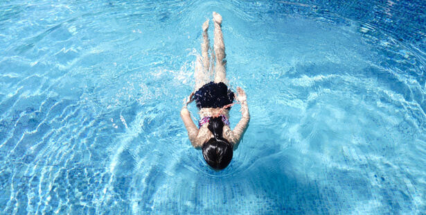 covid-19 piscine