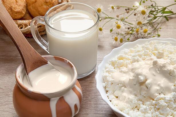 lait caillé