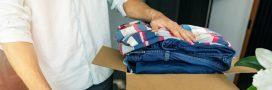 Bornes relais qui débordent: que faire de vos vieux vêtements?