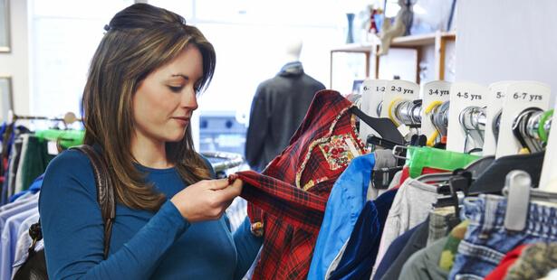 borne recyclage vêtements