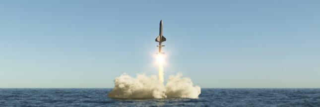 En Bretagne, des zones marines interdites pour cause... d'essais de missiles nucléaires