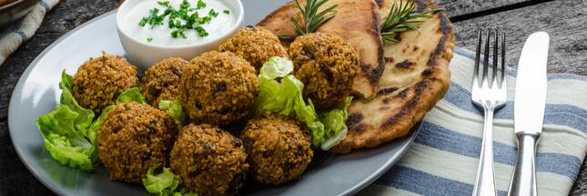 Falafel - Une boulette végétalienne terriblement addictive