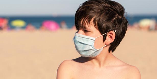 La peau des enfants plus fragile
