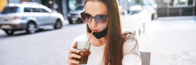 Alerte de l'OMS: le danger du masque sous le menton