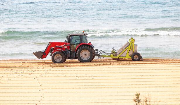 nettoyage mécanique des plages