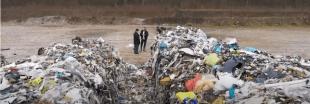 Un trafic de déchets belges déversés illégalement en France