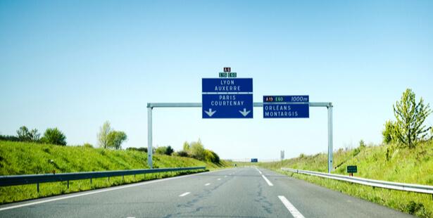 vitesse autoroute environnement