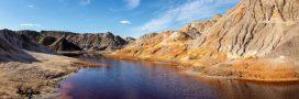 Catastrophe écologique: des flots d'acide dans une une rivière russe