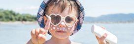 Alerte: des substances préoccupantes dans les produits solaires enfants