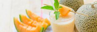 Votre eau aromatisée pour l'été : alliez melon... et basilic !