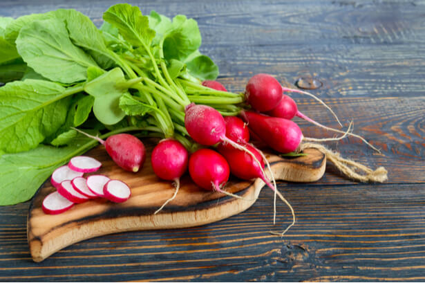 calories legumes radis
