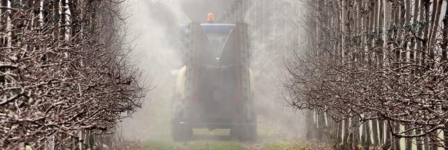 Pesticides dans l'air: un premier état des lieux national et pas d'alerte sanitaire
