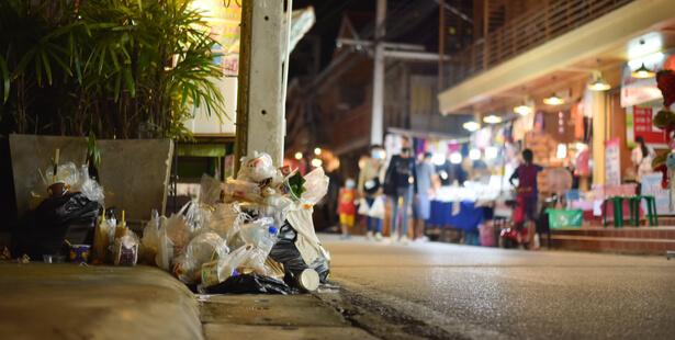 taxe plastique non recyclé