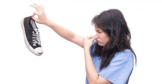 transpiration des pieds odeur