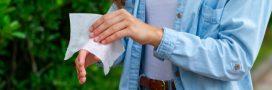 Comment remplacer les lingettes désinfectantes?