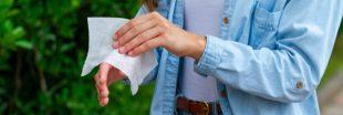 Comment remplacer les lingettes désinfectantes ?