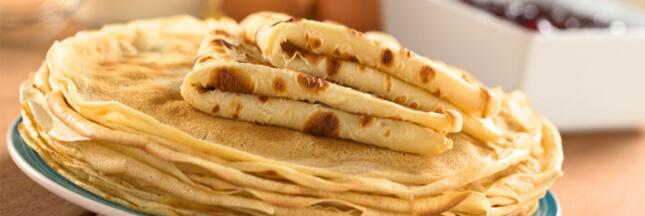 Rappel produit - 6 crêpes moelleuses Bio au sucre de canne de marque Carrefour Bio