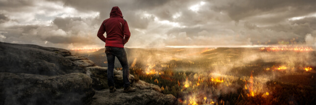 La France complice du désastre alors que l 'Amazonie continue de partir en fumée !