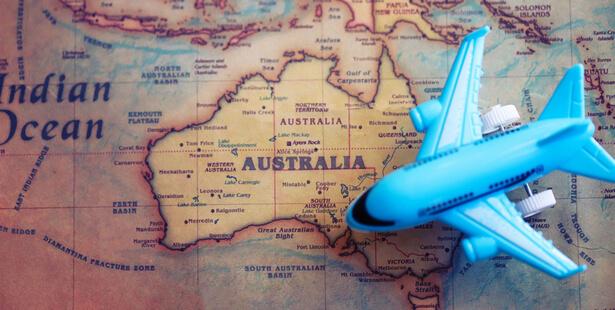 billet avion australie visite
